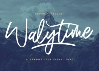 Walytime Font