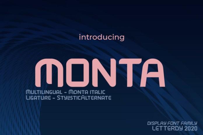Monta Font