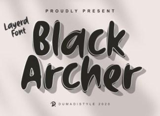 Black Archer Font