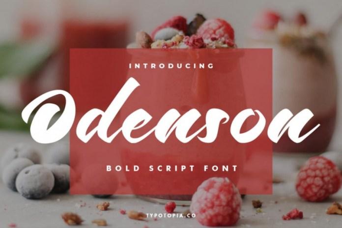 Odenson Font