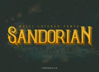 Sandorian Font