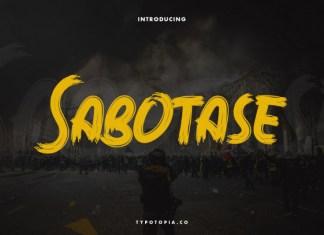 Sabotase Font
