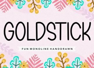 GOLDSTICK Font