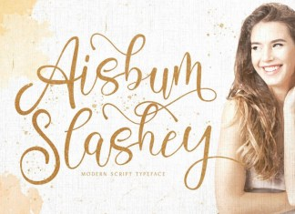 Aisbum Slashey Font