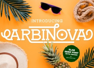 Arbinova Font