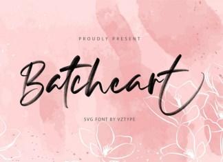Batcheart Font