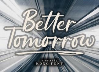 Better Tomorrow Font