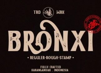 Bronxi Font