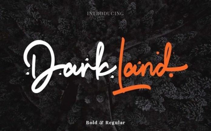 Darkland Font