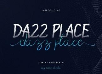 Dazz Place Font