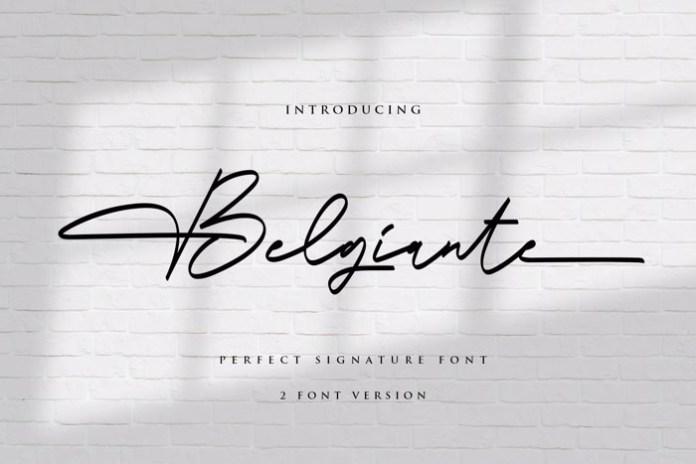 Belgiante Font