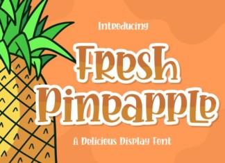 Fresh Pineapple Font