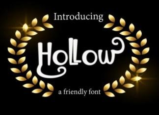 Hollow Font