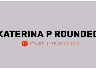 Katerina P Rounded Font