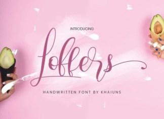 Loffers Font