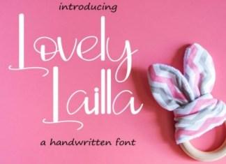 Lovely Lailla Font