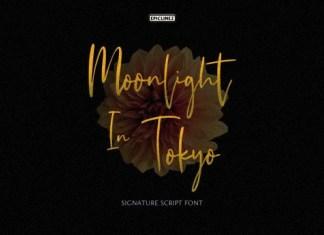 Moonlight In Tokyo Font