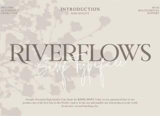 Riverflows Font