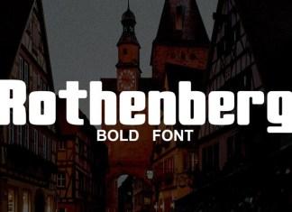 Rothenberg Font