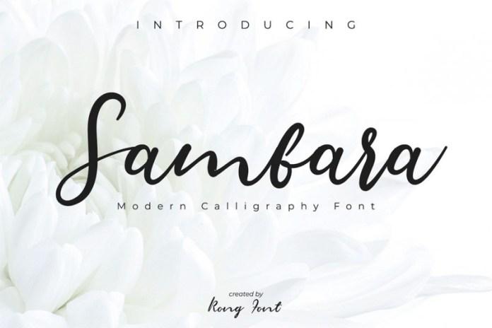 Sambara Font