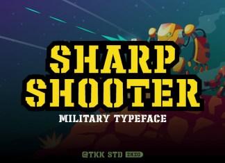 Sharpshooter Font