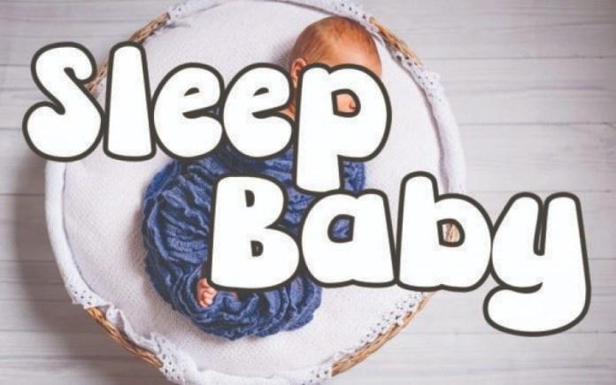 Sleep Baby Font