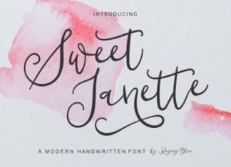 Sweet Janette Font
