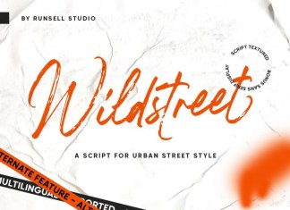 Wildstreet Font