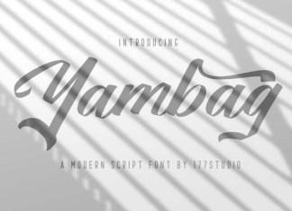 Yambag Font