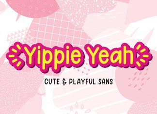 Yippie Yeah Font