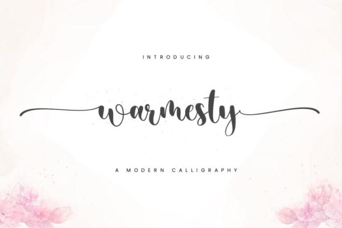 Warmesty Font