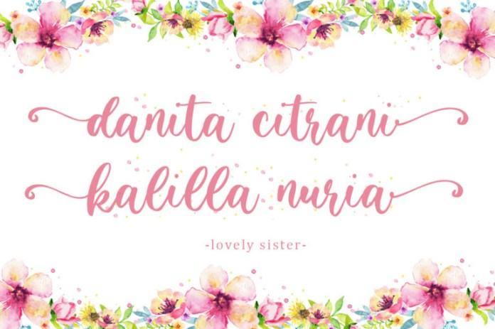 Lovely Sister Font