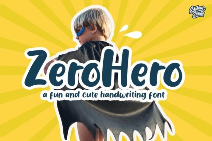 Zerohero Font