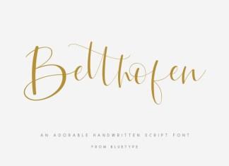 Betthofen Font