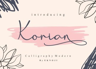 Korian Font