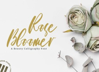 Rose Bloomer Font