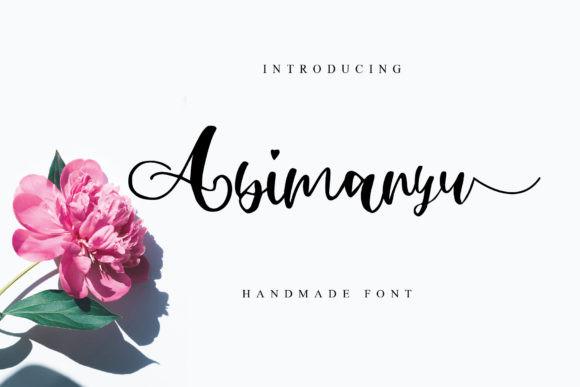 Abimanyu Font