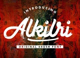Alkilri Font