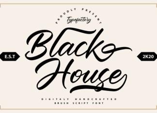 Black House Font