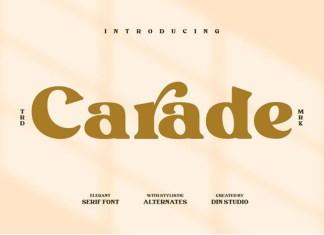 Carade Font