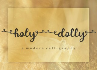 Holy Dolly Font