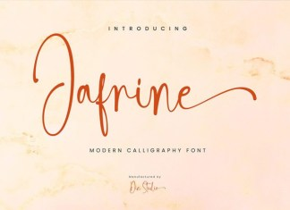 Jafrine Font