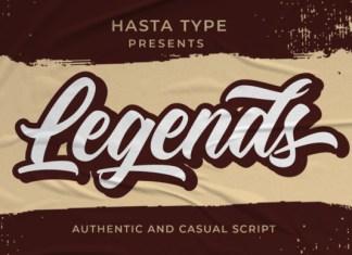 Legends Font