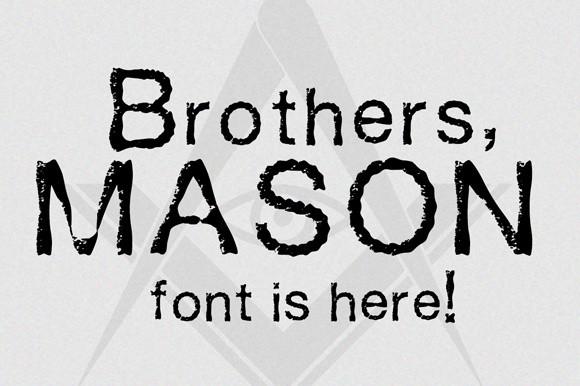Mason Font