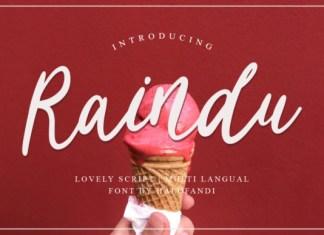 Raindu Font
