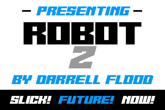 Robot Z Font
