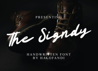 The Signdy Font