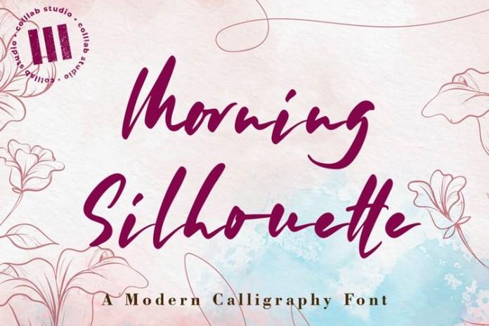 Morning Silhouette Font