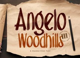 Angelo Woodhills Font