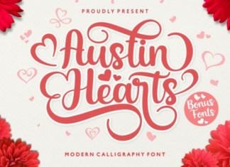 Austin Hearts Font